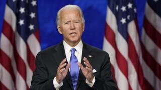 Προεδρικές εκλογές ΗΠΑ - Μπάιντεν: «Θα βάλω τέλος σε αυτή την εποχή του σκότους»
