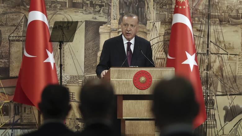 Ερντογάν: Η Ε.Ε. κακομαθαίνει την Ελλάδα