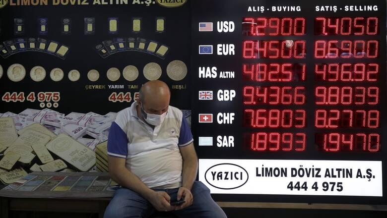Ο οίκος Fitch υποβάθμισε σε «αρνητική» την προοπτική της τουρκικής οικονομίας