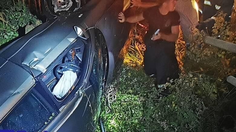 Αμαλιάδα: Τροχαίο δυστύχημα για τουρίστες - Ανασύρθηκαν νεκροί από αρδευτικό κανάλι