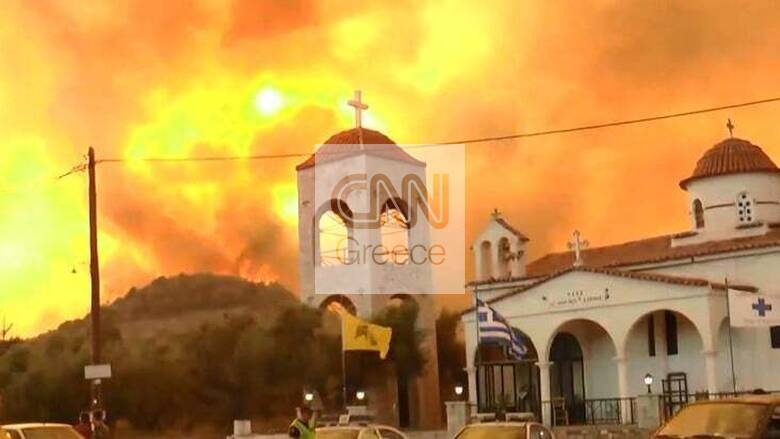 Αντιπεριφερειάρχης Λακωνίας στο CNN Greece: Θα είναι ολονύχτια η «μάχη» με τις φλόγες