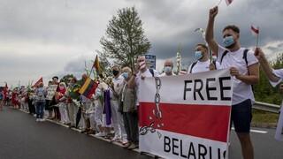 Λιθουανία: Ανθρώπινα αλυσίδα για την Λευκορωσία