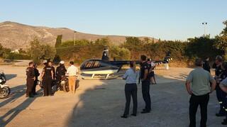 Γλυφάδα: Αναγκαστική προσγείωση ελικοπτέρου σε κατοικημένη περιοχή