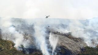 Φωτιά στην Αχαΐα: Ενισχύθηκαν οι πυροσβεστικές δυνάμεις