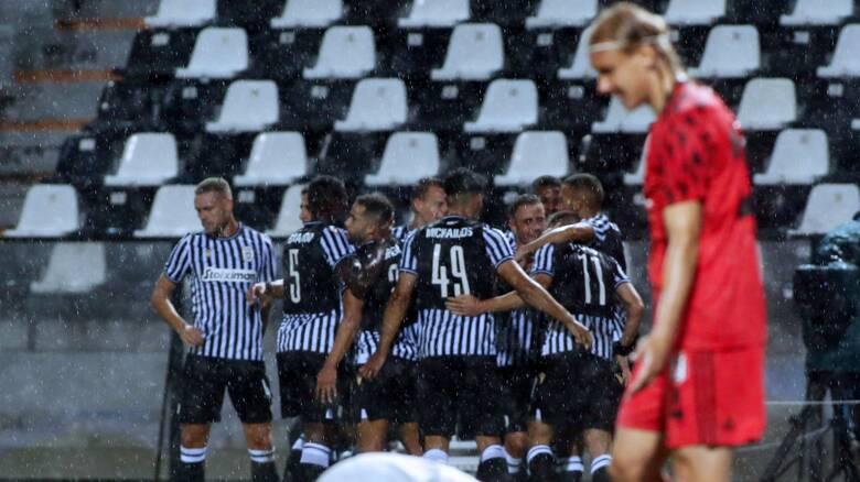 ΠΑΟΚ - Μπεσίκτας 3-1: Πρόκριση και πλησιάζει τους ομίλους του Champions League