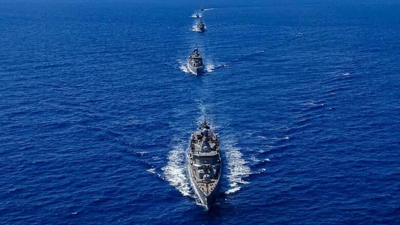 «Απάντηση» Ελλάδας - Γαλλίας - Κύπρου - Ιταλίας στις τουρκικές προκλήσεις στην Ανατ. Μεσόγειο