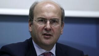 Χατζηδάκης: Προετοιμαζόμαστε και για το χειρότερο σενάριο με την Τουρκία