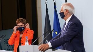 Αποκαλυπτικός διάλογος Μπορέλ - Καρενμπάουερ: Επικοινωνία Μέρκελ - Ερντογάν την Παρασκευή