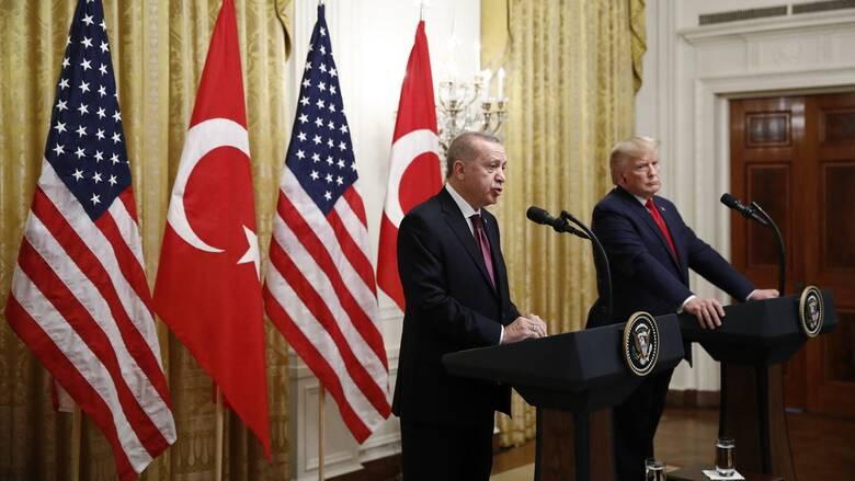 Ερντογάν σε Τραμπ: Η Τουρκία είναι υπέρ του διαλόγου και της μείωσης των εντάσεων