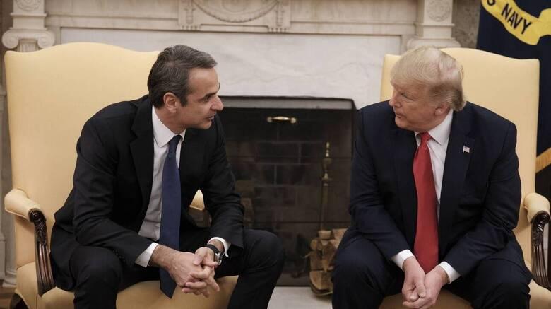 Κινητικότητα στα ελληνοτουρκικά: Και δεύτερο τηλεφώνημα Τραμπ σε Μητσοτάκη