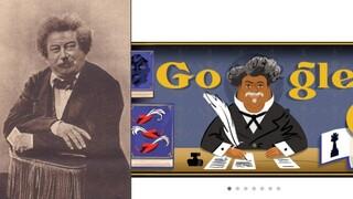 Αλέξανδρος Δουμάς: Η Google τιμά τον σπουδαίο Γάλλο συγγραφέα με Doodle