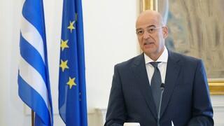 Δένδιας: Η Ελλάδα έχει την συμπαράσταση των εταίρων της