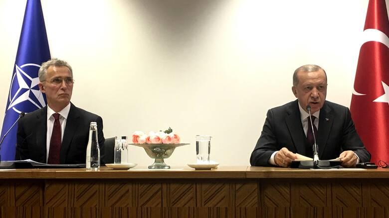 Επικοινωνία Ερντογάν με Στόλτενμπεργκ: Παρέμβαση του ΝΑΤΟ στην Αν. Μεσόγειο ζητά η Άγκυρα