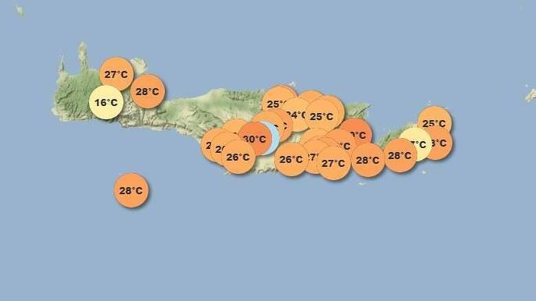 Κρήτη: Πλέον έχει το δικό της site για τις καιρικές συνθήκες που επικρατούν στο νησί