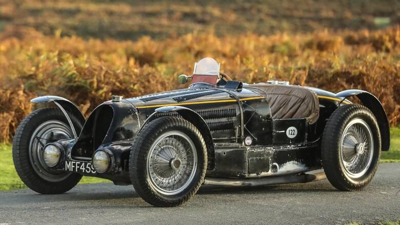 Γιατί αυτή η ταλαιπωρημένη κλασική Bugatti Type 59 κοστίζει μια περιουσία;