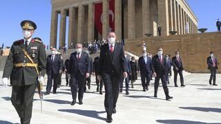 Ερντογάν: Η Τουρκία δεν θα υποκύψει στον εκφοβισμό στην Ανατολική Μεσόγειο
