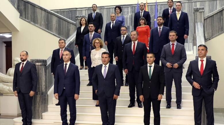 Βόρεια Μακεδονία: Η κυβέρνηση Ζάεφ πήρε ψήφο εμπιστοσύνης
