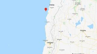 Ισχυρός σεισμός 6,8 Ρίχτερ ανοικτά της Χιλής