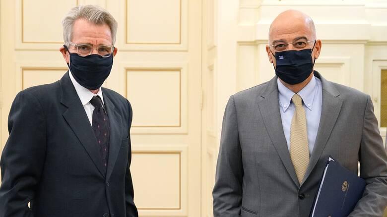 Συνεχίζεται ο διπλωματικός «πυρετός»: Νέα συνάντηση Δένδια – Πάιατ