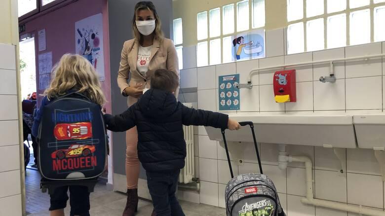 Κορωνοϊός: Κλειστά 22 σχολεία στη Γαλλία λόγω εμφάνισης κρουσμάτων
