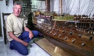 Γιάννης Μπουνταλάς: Ταξίδι με το Victory, τη ναυαρχίδα του Νέλσονα