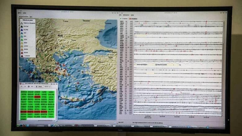 Σεισμός στην Αττική: Πόσοι μετασεισμοί καταγράφηκαν σε ένα 24ωρο