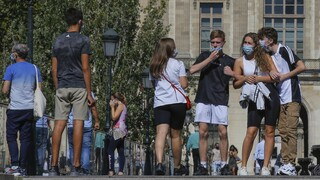 Κορωνοϊός: Ρεκόρ κρουσμάτων από την έναρξη της πανδημίας στη Γαλλία