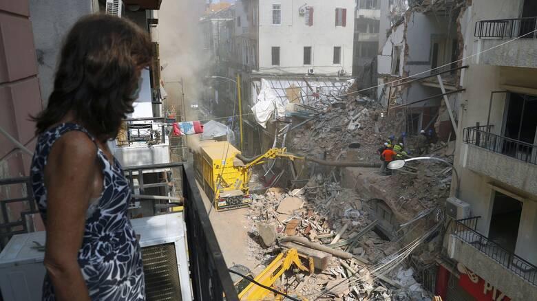 «Σβήνουν» οι ελπίδες για επιζώντες στα συντρίμμια της Βηρυτού