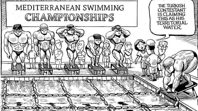 Το εύστοχο σκίτσο του Economist για την τουρκική επεκτατικότητα