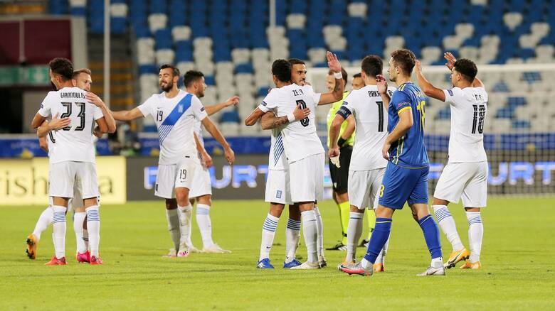 Κόσοβο - Ελλάδα 1-2: Ζορίστηκε αλλά νίκησε η Εθνική