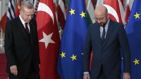Ερντογάν σε Σαρλ Μισέλ: Οι Ευρωπαίοι ηγέτες να υιοθετήσουν ουδέτερη στάση για την Ανατολική Μεσόγειο