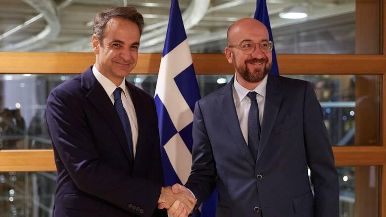 Στην Αθήνα ο Σαρλ Μισέλ στις 15 Σεπτεμβρίου - Τηλεφωνική επικοινωνία με Μητσοτάκη