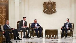 Συρία: Συνομιλίες Άσαντ με Μόσχα για επέκταση των ρωσικών επενδύσεων