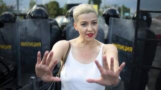 Λευκορωσία: Συνελήφθη η Κολέσνικοβα της αντιπολίτευσης την ώρα που διέσχιζε τα σύνορα