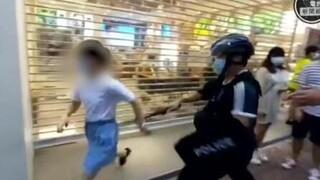Σάλος στο Χονγκ Κονγκ για την αστυνομική βία κατά 12χρονης σε διαδήλωση