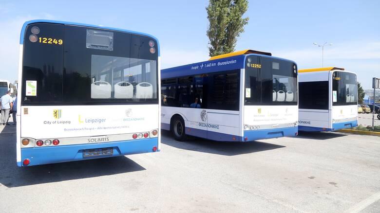 Θεσσαλονίκη: Πότε θα κυκλοφορήσουν στους δρόμους τα νέα λεωφορεία