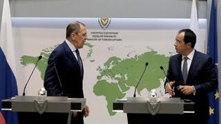 Στην Κύπρο ο Λαβρόφ: Έτοιμη η Ρωσία να αναλάβει πρωτοβουλία αν της ζητηθεί