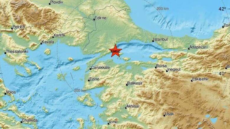Σεισμός στη Θάλασσα του Μαρμαρά - Αισθητός και στην Ελλάδα