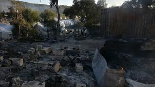 Φωτιά Μόρια: Στη Μυτιλήνη ο γ.γ. του υπουργείου Μετανάστευσης