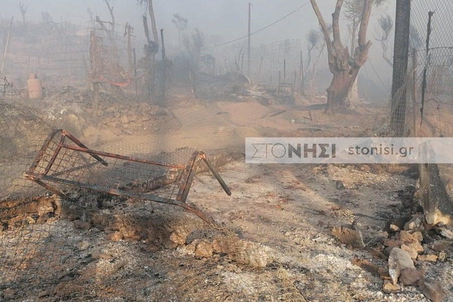 Φωτιές στη Μόρια: Φόβοι για νεκρούς - Αγωνία για χιλιάδες μετανάστες, μεταξύ αυτών κρούσματα κορωνοϊού