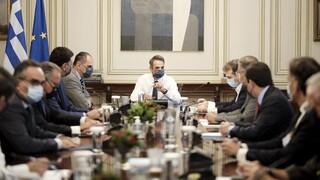 Ολοκληρώθηκε η έκτακτη σύσκεψη για την κατάσταση στη Μόρια
