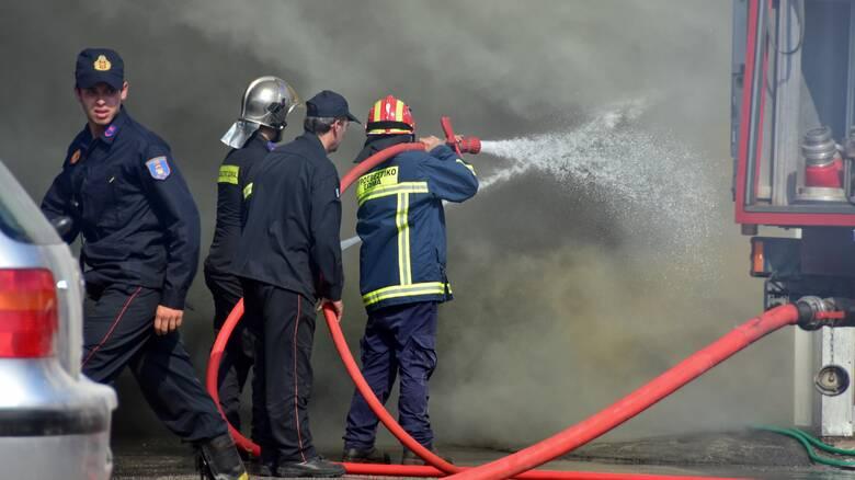 Φωτιά σε ρεματιά στην Κηφισιά