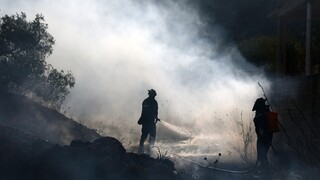 Φωτιά στα Καλύβια: Ολονύχτιος συναγερμός για αναζωπυρώσεις - Ειδική μέριμνα για τους πολίτες