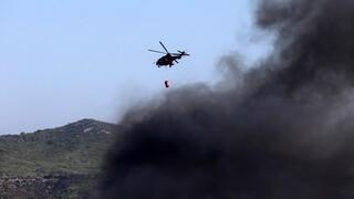 Καλύβια: Σε ύφεση η φωτιά - Μεγάλες καταστροφές