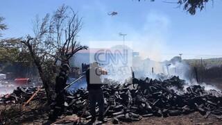 Φωτιά στη Ραφήνα: Καλύτερη η εικόνα – Εκκενώθηκε ο οικισμός Δροσιά