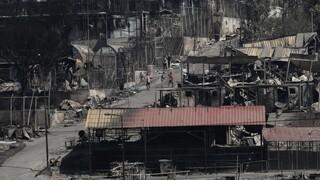 Ολοκληρωτική η καταστροφή στη Μόρια - Ξέσπασε και άλλη πυρκαγιά