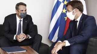 Συνάντηση Μητσοτάκη-Μακρόν: Απόλυτη συμφωνία στην κεντρική στρατηγική απέναντι στην Τουρκία