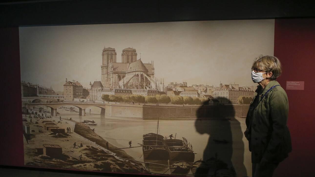 Παρίσι: Άνοιξε και πάλι για το κοινό, με μια έκθεση, η κρύπτη της Νοτρ Νταμ