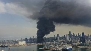 Τραγωδία χωρίς τέλος στη Βηρυτό: Αποθήκη με ανθρωπιστικό υλικό κατέστρεψε η νέα φωτιά