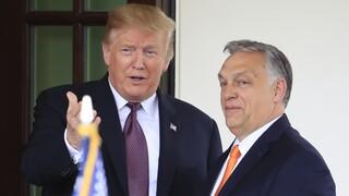 Στο πλευρό του Ντόναλντ Τραμπ ο πρωθυπουργός της Ουγγαρίας